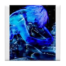 Cosmic Ice Tile Coaster