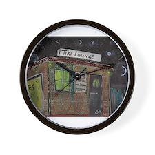 Tiki Lounge Wall Clock