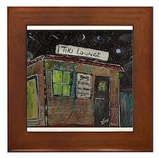 Tiki Lounge Framed Tile
