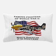 P-51 Mustang Pillow Case