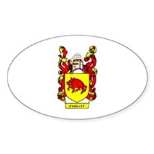O'MALLEY Coat of Arms Oval Decal