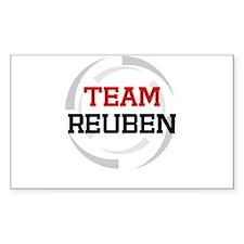 Reuben Rectangle Decal