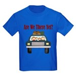 Are We There Yet Kids Dark T-Shirt