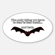 Fear Bats Decal