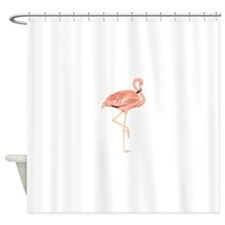 Unique Flamingo Shower Curtain
