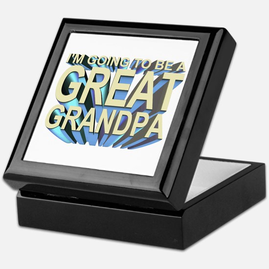 going to be a great grandpa Keepsake Box