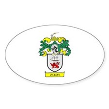 O'LEARY Coat of Arms Oval Decal