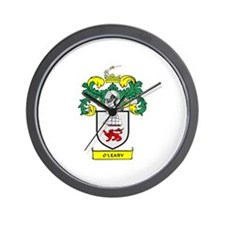 O'LEARY Coat of Arms Wall Clock