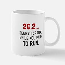 26 Beers Run Mugs
