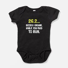 26 Beers Run Baby Bodysuit