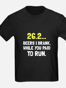 26 Beers Run T-Shirt