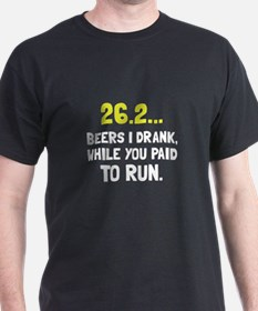 26 Beers Run T-Shirt