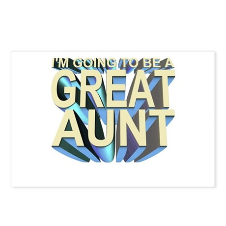 I'm going to be a great aunt Postcards (8)