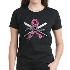 Strike Out Cancer Ribbon T-Shirt