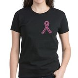 Pink ribbon Women's Dark T-Shirt