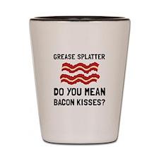 Bacon Kisses Shot Glass