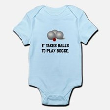 Balls To Play Bocce Body Suit