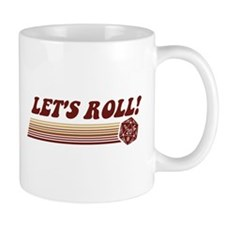Let's Roll Roleplaying Game Dice Mugs