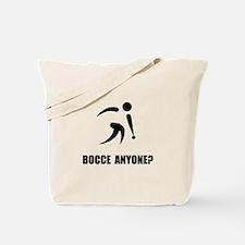 Bocce Anyone Tote Bag