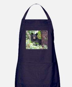 Bear Cub relaxing in Tree Apron (dark)