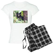 Bear Cub relaxing in Tree Pajamas