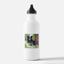 Bear Cub relaxing in Tree Water Bottle