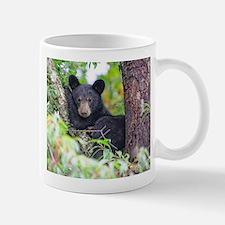 Bear Cub relaxing in Tree Mugs