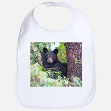 Bear Cub relaxing in Tree Bib