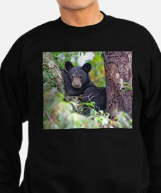 Bear Cub relaxing in Tree Sweatshirt