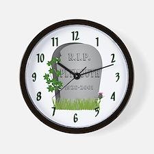 R.I.P. Plymouth Wall Clock