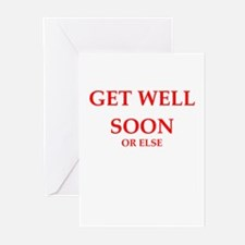 get well Greeting Cards