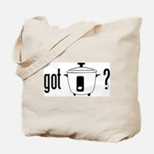 got rice (cooker) Tote Bag
