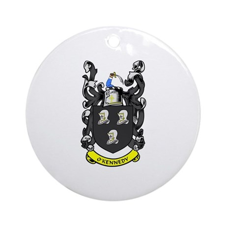 O'KENNEDY Coat of Arms Ornament (Round)