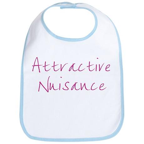 Attractive Nuisance (Pink) Bib