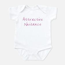 Attractive Nuisance (Pink) Infant Bodysuit