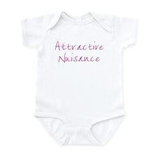 Attractive Nuisance (Pink) Onesie