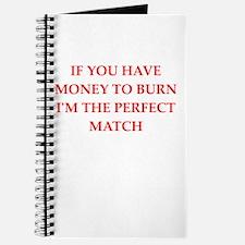 money to burn Journal