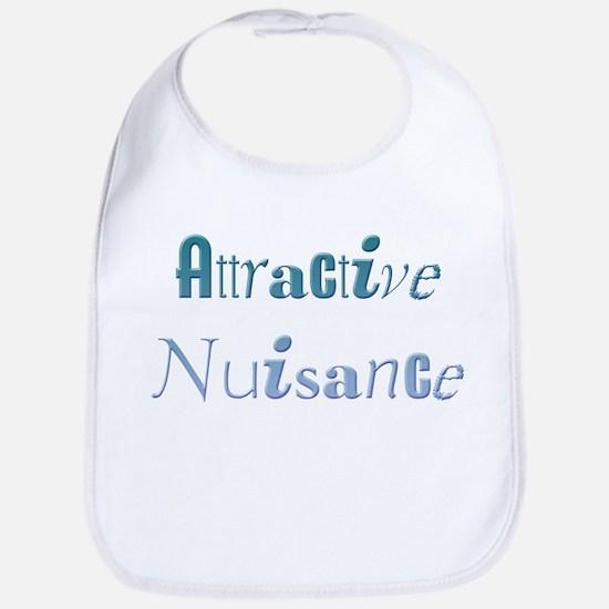 Attractive Nuisance (Blue) Bib