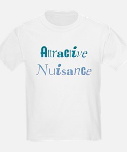 Attractive Nuisance (Blue) T-Shirt