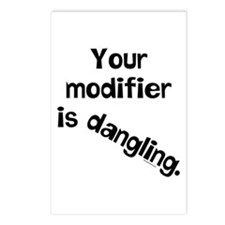 Dangling Modifier Postcards (Package of 8)