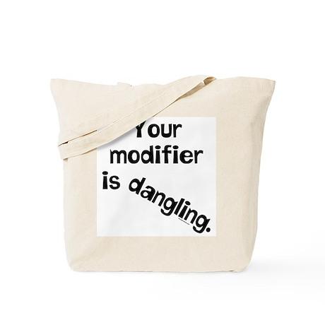 Dangling Modifier Tote Bag