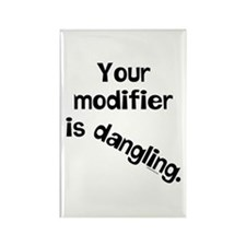 Dangling Modifier Rectangle Magnet