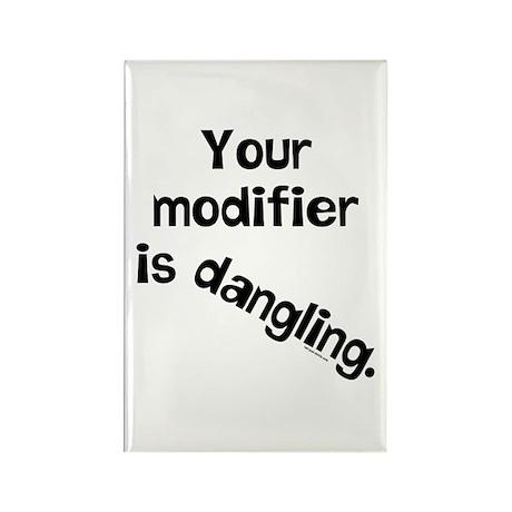 Dangling Modifier Rectangle Magnet