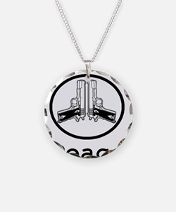 Peace with 1911s Necklace