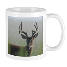 8 Point Buck in Early Morning Fog Mugs