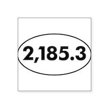 Appalachian Trail mileage 2014 Sticker