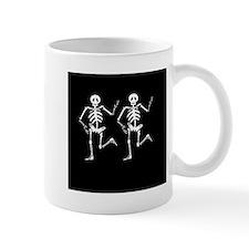 Skeleton Bones Halloween Mug