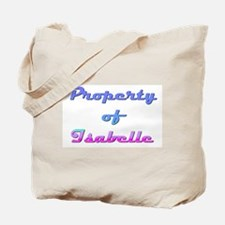 Property Of Isabelle Female Tote Bag