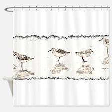 Cute Seabird Shower Curtain