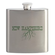 New Hampshire Roots Flask